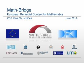 Math-Bridge European Remedial Content for Mathematics