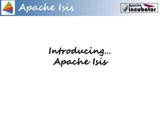 Introducing… Apache Isis