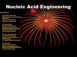 Nucleic Acid Engineering