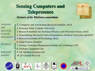 Sensing Computers and Telepresence