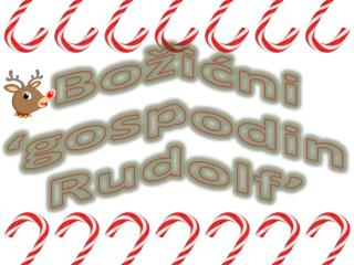 Božićni  'gospodin Rudolf'