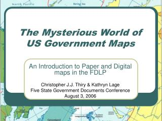 The Mysterious World of US Government Maps