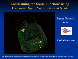 Constraining the Sivers Functions using Transverse Spin  Asymmetries at STAR