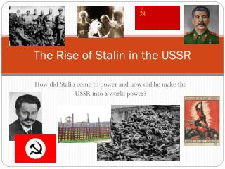 The Rise of Stalin in the USSR
