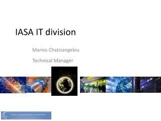 IASA IT division