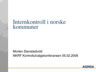 Internkontroll i norske kommuner