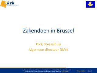 Zakendoen in Brussel