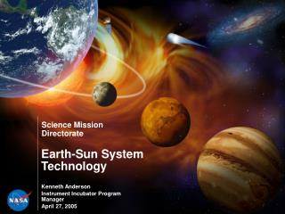 Earth-Sun System Technology