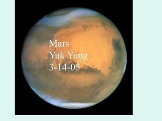 Mars Yuk Yung 3-14-05