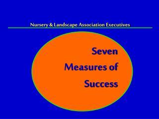 Nursery & Landscape Association Executives