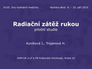 KNM UK 3.LF a FN Královské Vinohrady, Praha 10