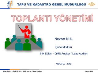TOPLANTI YÖNETİMİ