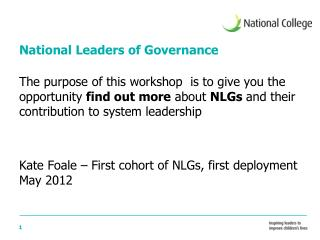 National Leaders of Governance