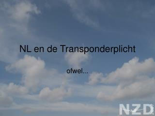 NL en de Transponderplicht