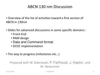 ABCN 130 nm  Discussion