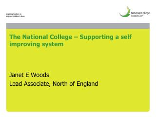 The National College – Supporting a self improving system