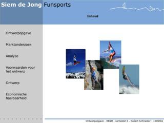 OPDRACHT: Een funsportcentrum, gelegen in Delft,  is toe aan een verbouwing.