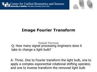 Image Fourier Transform