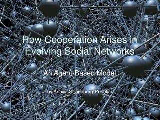 How Cooperation Arises in Evolving Social Networks