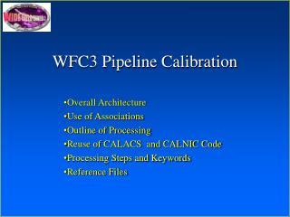 WFC3 Pipeline Calibration