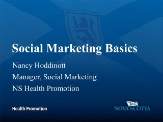 Social Marketing Basics