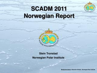 Background photo : Sebastian Gerland,  Norwegian Polar Institute