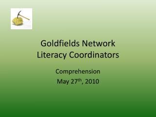 Goldfields Network Literacy Coordinators