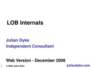 LOB Internals
