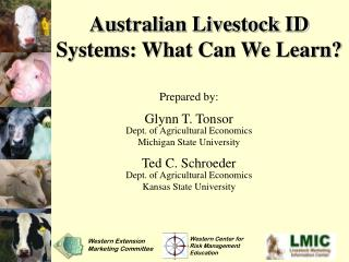 Australian Livestock ID Systems: What Can We Learn?