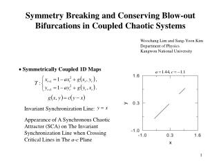 Symmetry Breaking and Conserving Blow-out Bifurcations in Coupled Chaotic Systems