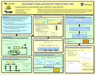 Adaptive filter based on LMS Algorithm used in different fields