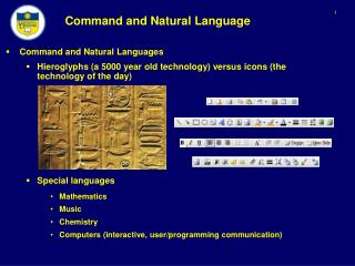 Command and Natural Language