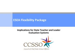 ESEA Flexibility Package