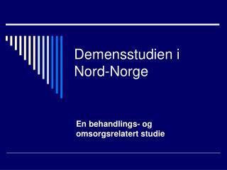 Demensstudien i Nord-Norge