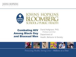 Combating HIV Among Black Gay and Bisexual Men