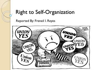 Right to Self-Organization