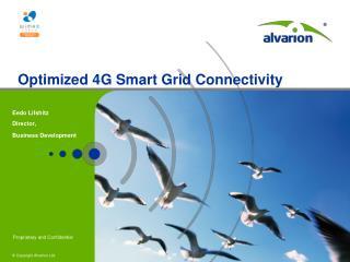 Optimized 4G Smart Grid Connectivity