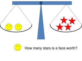 How many stars is a face worth?