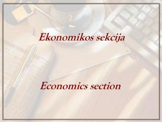 Economics  s ection