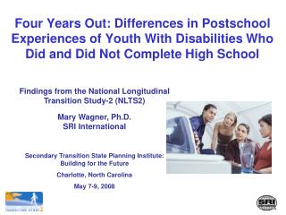 Findings from the National Longitudinal Transition Study-2 (NLTS2)
