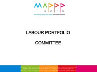 LABOUR PORTFOLIO  COMMITTEE