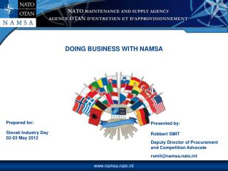 Prepared for: Slovak Industry Day 02-03 May 2012