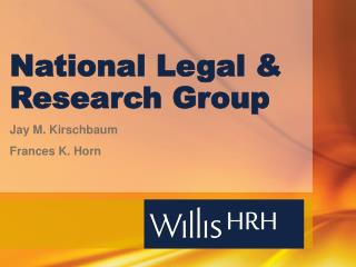 National Legal & Research Group