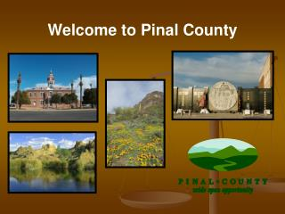 Welcome to Pinal County