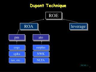 Dupont  Technique