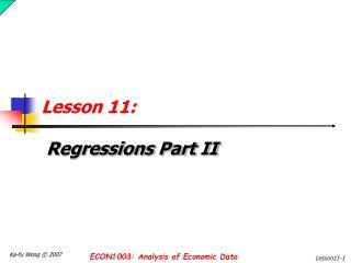 Lesson 11:
