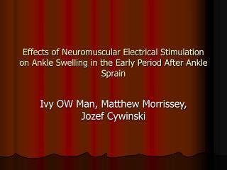 Ivy OW Man, Matthew Morrissey, Jozef Cywinski