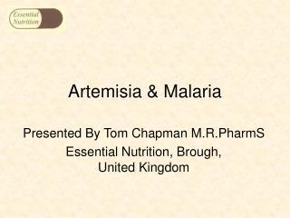 Artemisia  Malaria