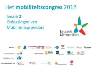 Het  mobiliteitscongres  2012