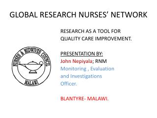 GLOBAL  RESEARCH NURSES' NETWORK